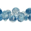 Lamp Bead Teardrop 50pc 10mm Parisian Blue